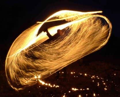 Mèche courte, figure pyrotechnique du spectacle